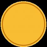 Kada - Plain Gold Broad With Screw