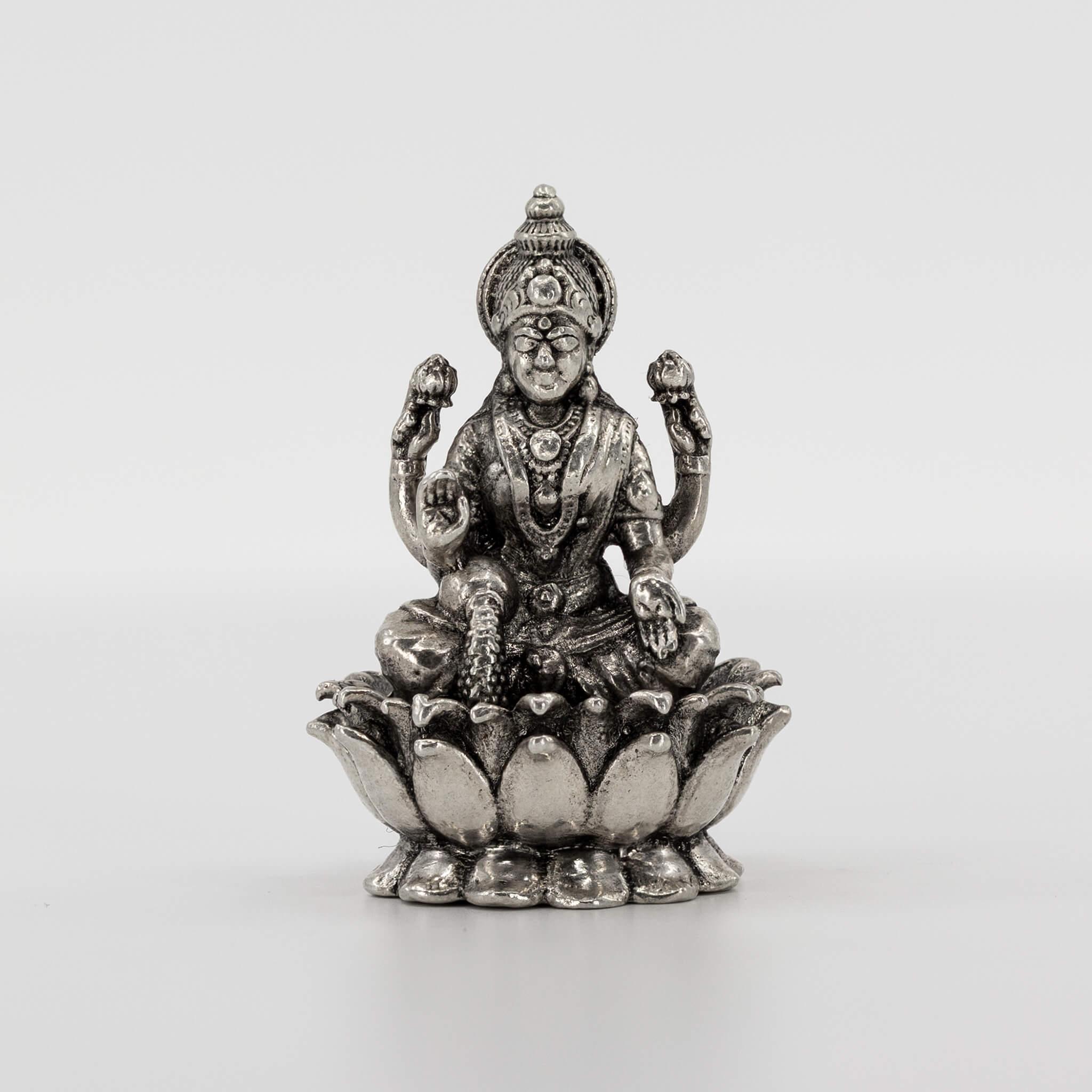 Statue - 3D - Oxidised - Lakshmi