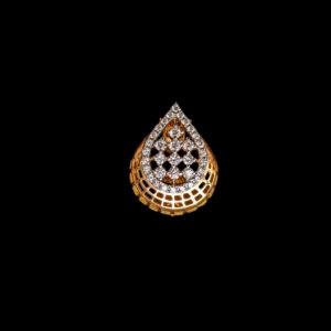 Diamond – Pendant – SL – Tear Drop – 0.41ct Dia