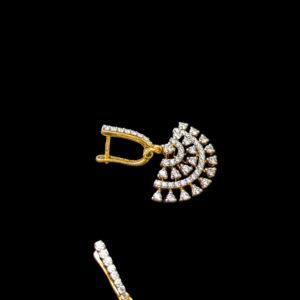 Diamond – Earring – 1.06ct Dia Clip Dangler