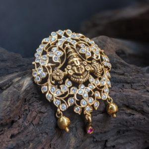 Diamond – Pendant – SL Close Set – Balaji – 2.52ct 69st EF VVS1